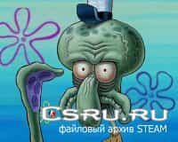Тема меню Squidward - Does this Look Unsure to you? для Cs1.6